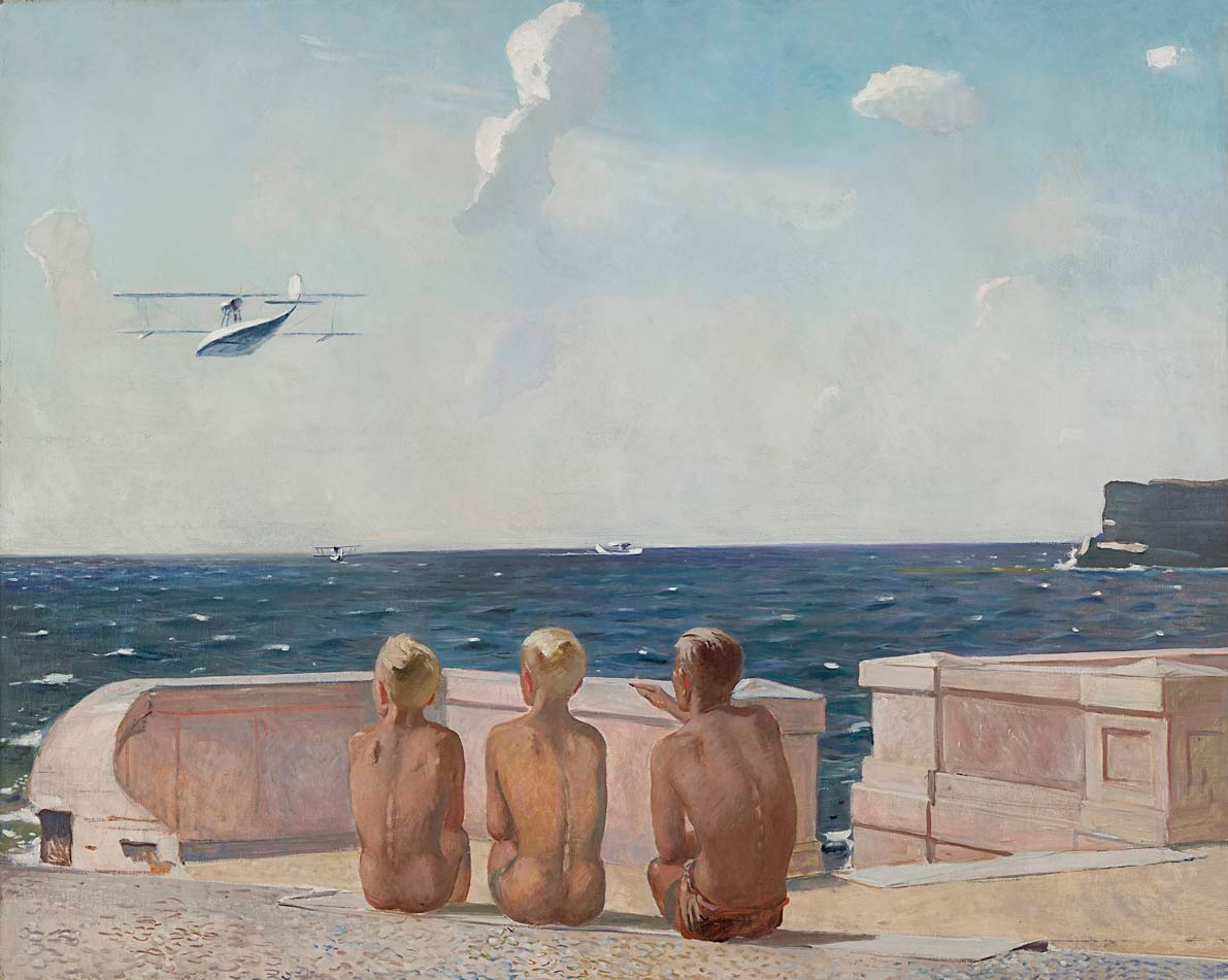 Aleksandr Deineka Future Pilots