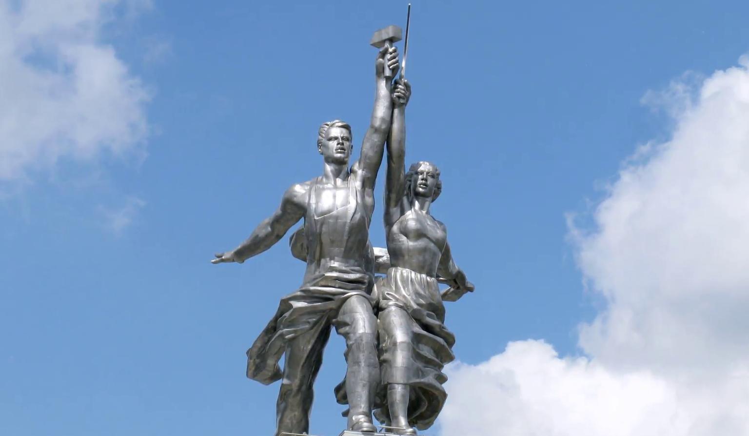 Arbeiter und Bäuerin Moskau Wera Ignatjewna Muchina 1937