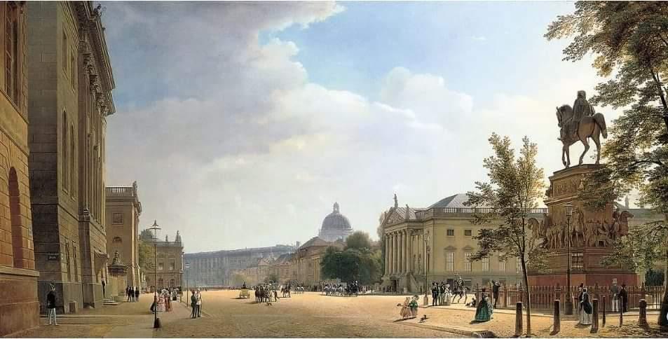 Unter den Linden historisch