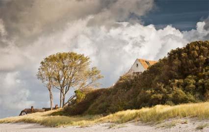Bild: Ahrenshoop, zum Prerower Fischerstrand: klicken